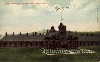 Upper Peninsula Branch Prison - Marquette, Michigan MI Postcard