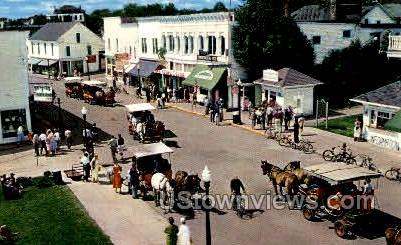 Michigans Most Historic Place - Mackinac Island Postcard