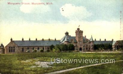 Marquette Prison - Michigan MI Postcard