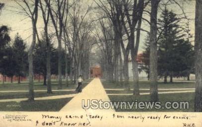 University of Michigan - MIsc Postcard