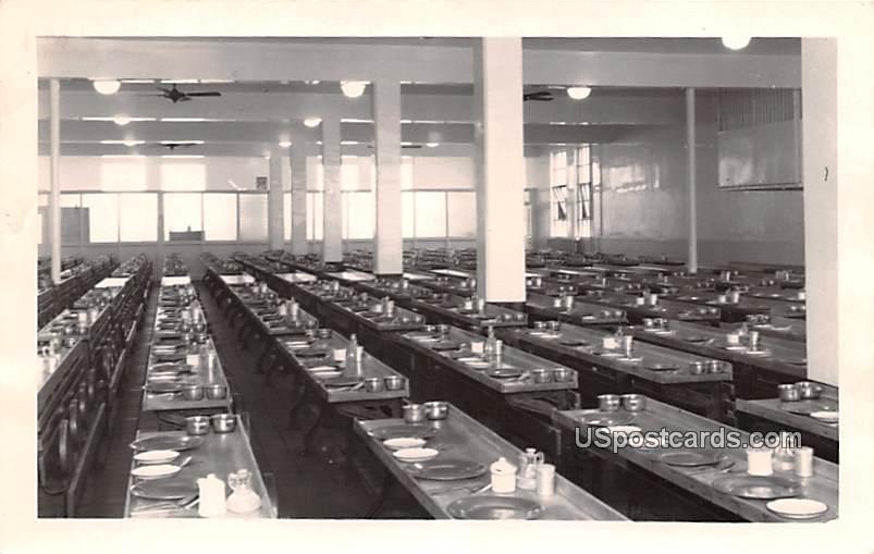 Prison Mess Hall - Marquette, Michigan MI Postcard