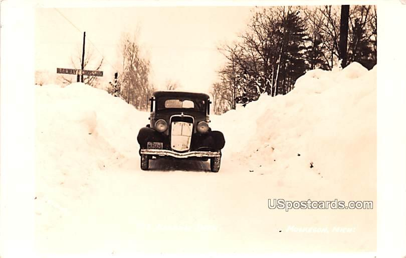 The Narrow Path - Muskegon, Michigan MI Postcard