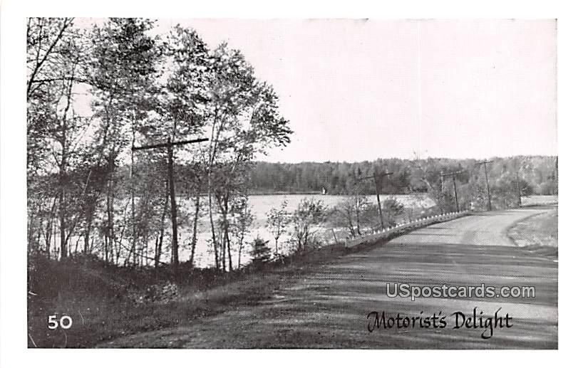 Motorist's Delight - MIsc, Michigan MI Postcard