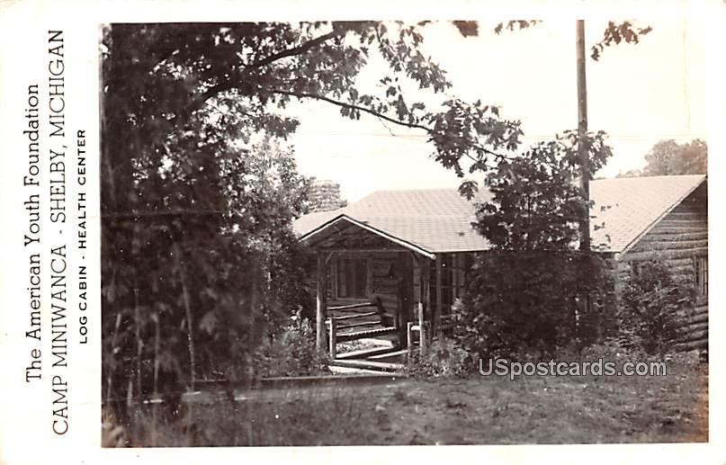 Camp Miniwanca - MIsc, Michigan MI Postcard