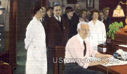 Office of Dr. Fred N. Bonine  - Niles, Michigan MI Postcard