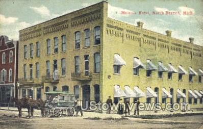 Melanie Hotel - Niles, Michigan MI Postcard
