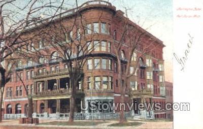 Harrington Hotel - Port Huron, Michigan MI Postcard