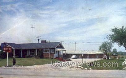 Danis Motel - Port Huron, Michigan MI Postcard