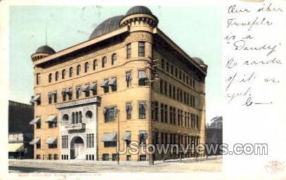 Maccabee Temple - Port Huron, Michigan MI Postcard