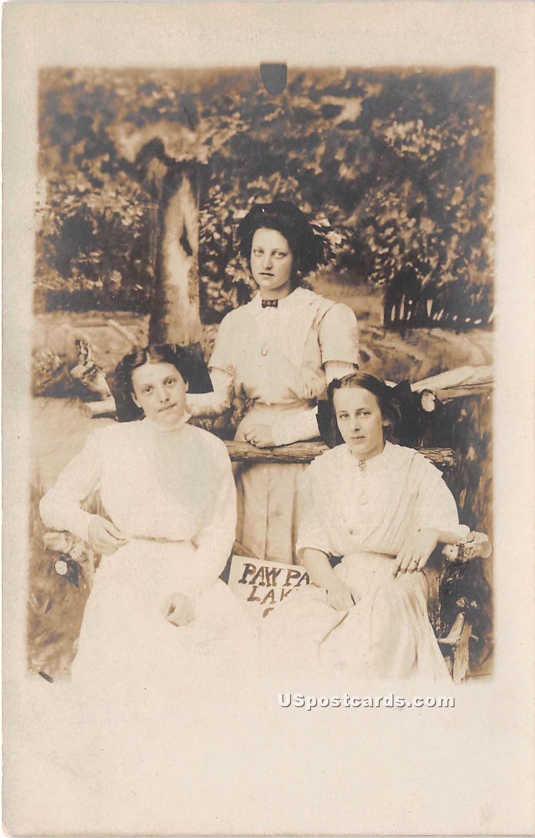 Group of Women in Paw Paw, Michigan