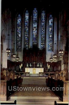 The Cathederal of St. Paul - Detroit, Michigan MI Postcard