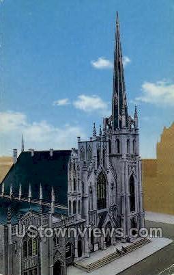 Fort Street Presbyterian Church - Detroit, Michigan MI Postcard