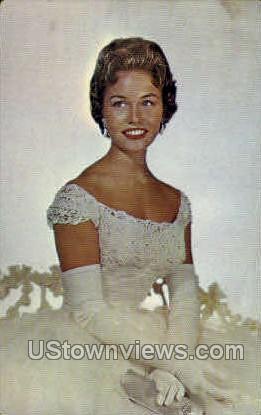Miss Nancy Anne Fleming - MIsc, Michigan MI Postcard