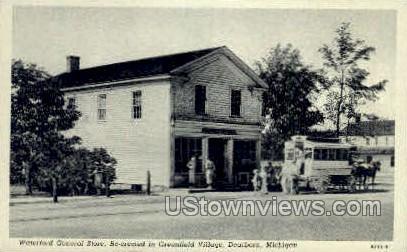 Waterford General Store - Dearborn, Michigan MI Postcard