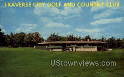 Traverse City Golf and Country Club - MIsc, Michigan MI Postcard
