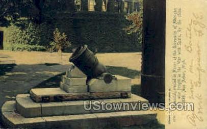 Memorial at University of Michigan - Ann Arbor Postcard