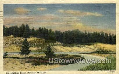 Shifting Sands - MIsc, Michigan MI Postcard