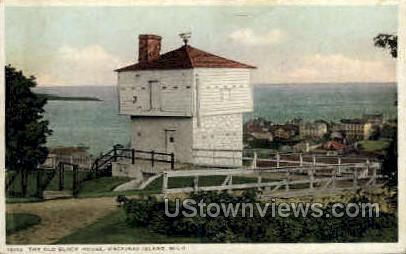 The Old Block House - Mackinac Island, Michigan MI Postcard