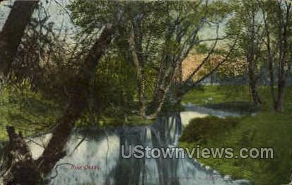 Pine Creek - MIsc, Michigan MI Postcard