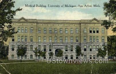 Medical Building - Ann Arbor, Michigan MI Postcard