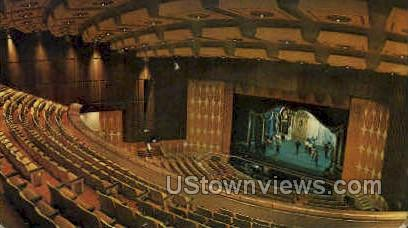 Fisher Theatre - Detroit, Michigan MI Postcard