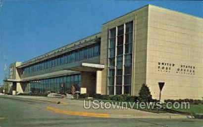 Flint Post Office - Michigan MI Postcard