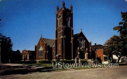 St. Paul American Lutheran Church - Alpena, Michigan MI Postcard