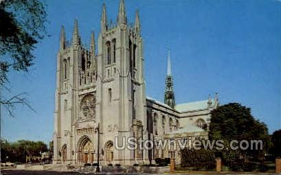 Cathederal of Most Blessed  - Detroit, Michigan MI Postcard