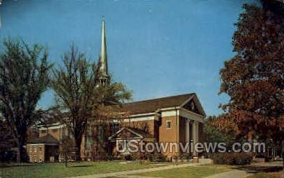 Goodrich Chapel - Albion, Michigan MI Postcard