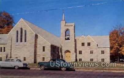 First Evangelical United Brethern  - Niles, Michigan MI Postcard