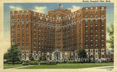 Hurley Hospital - Flint, Michigan MI Postcard