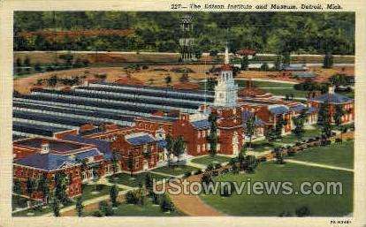 The Edison Institute - Detroit, Michigan MI Postcard