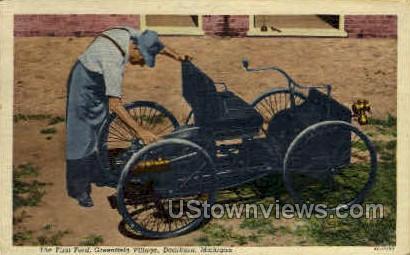 The First Ford - Dearborn, Michigan MI Postcard