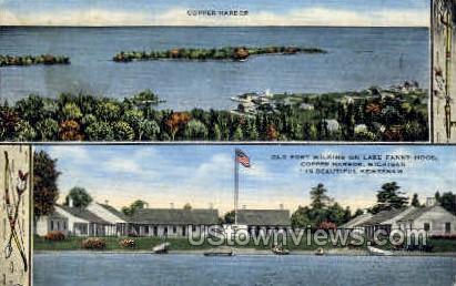 Copper Harbor, Michigan, MI Postcard