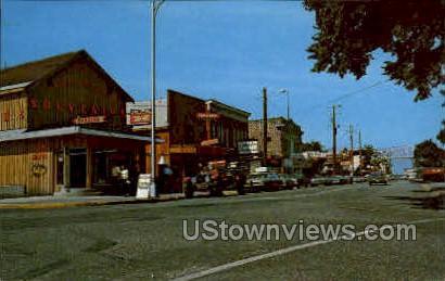 West Portage Ave. - Sault Ste Marie, Michigan MI Postcard