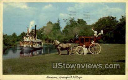 Suwanee - Dearborn, Michigan MI Postcard