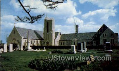 St. Martha's Episcopal Church - Detroit, Michigan MI Postcard