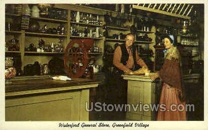 Waterfron General Store - Dearborn, Michigan MI Postcard