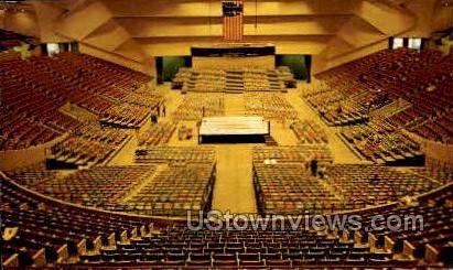 Convention Arena - MIsc, Michigan MI Postcard