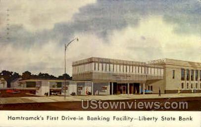Liberty State Bank - Detroit, Michigan MI Postcard