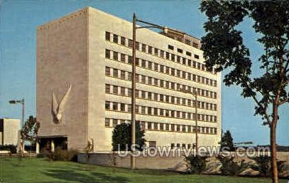 Veterans Memorial Bldg. - Detroit, Michigan MI Postcard