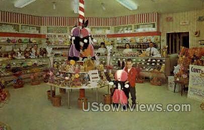 Corden's Candy Carousel - Inkster, Michigan MI Postcard