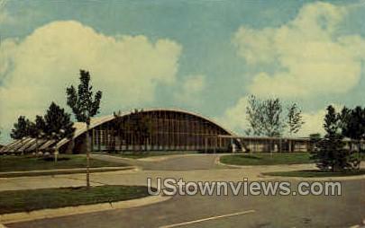 Dearborn Youth Center - Michigan MI Postcard