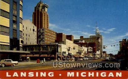 Lansing, Michigan, MI Postcard