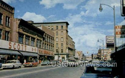 Ashmun St.  - Sault Ste Marie, Michigan MI Postcard