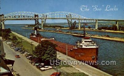 The Peter A. B. Windener - Sault Ste Marie, Michigan MI Postcard