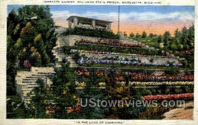 Michigan State Prison - Marquette Postcard