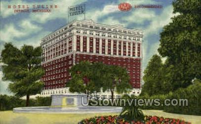 Hotel Tuller - Detroit, Michigan MI Postcard