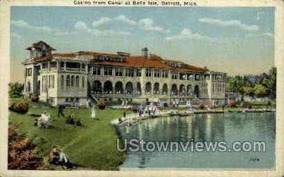 Casino - Detroit, Michigan MI Postcard