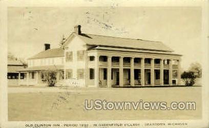 Old Clinton Inn - Dearborn, Michigan MI Postcard